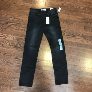 Black boys jeans size 14 Old Navy NWT Karate style